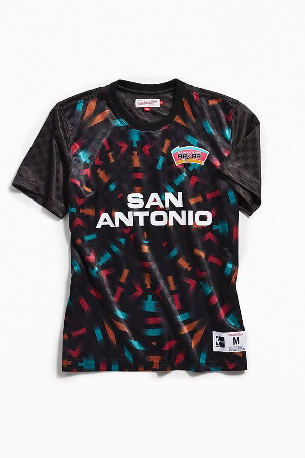 Mitchell   Ness San Antonio Spurs Jersey  1d0a2758b