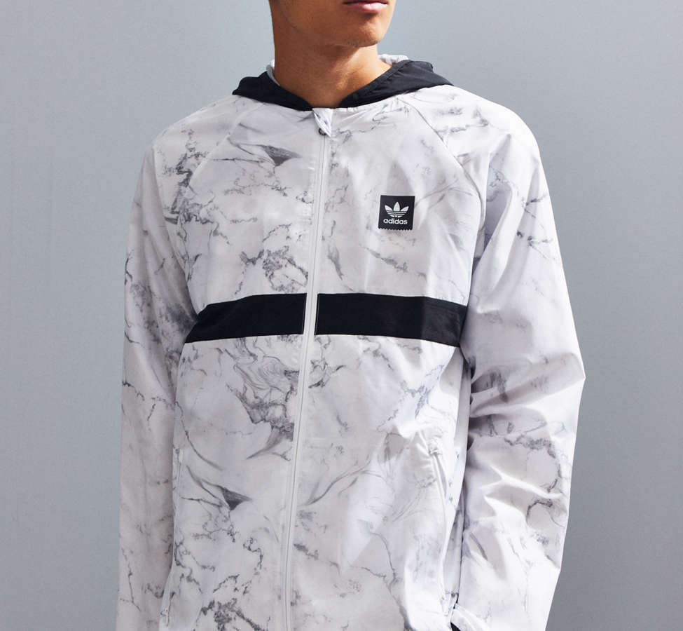 Slide View: 1: adidas Marble BB Packable Jacket