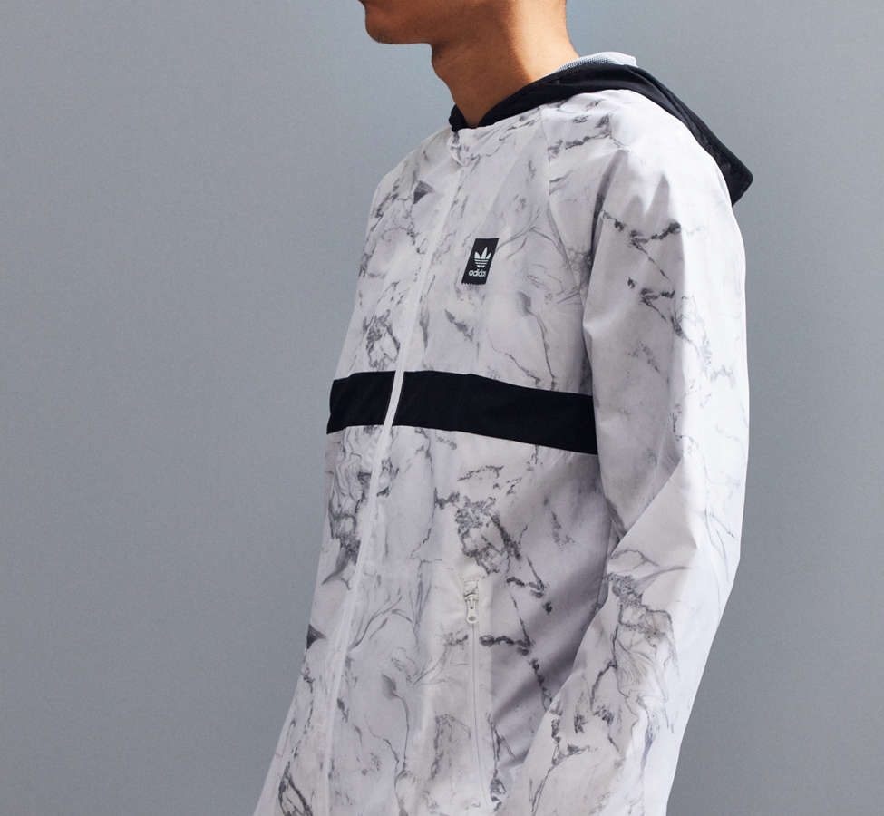 Slide View: 2: adidas Marble BB Packable Jacket