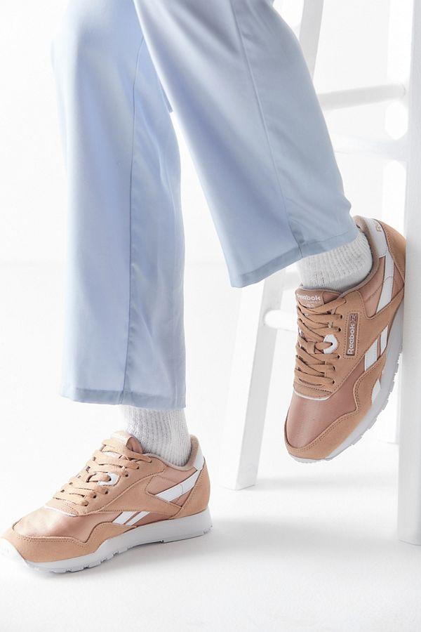 Slide View  1  Reebok Classic Nylon Sneaker d19f432e3