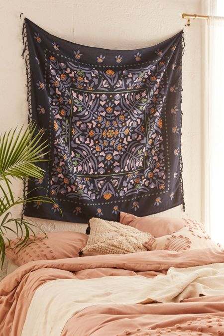 Tapestries urban outfitters harlow folk floral tapestry gumiabroncs Gallery