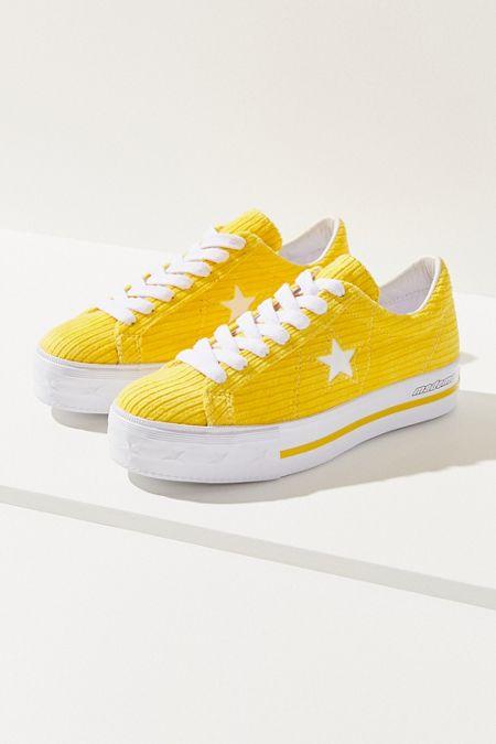 best website 02ae0 8c577 Converse One Star X MadeMe Corduroy Platform Sneaker