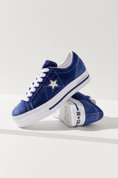 Converse One Star X Made Me Suede Platform Sneaker by Converse