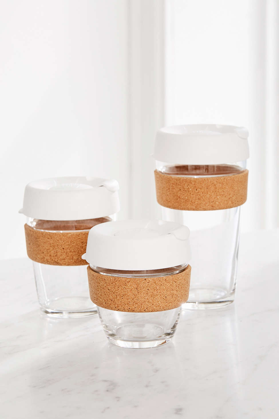 Slide View  Keepcup Cork Brew Travel Coffee Mug