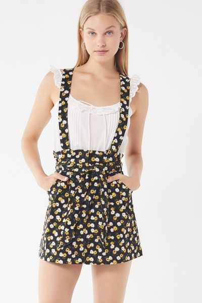 Uo Ireley Corduroy Skirtall Overall by Urban Outfitters