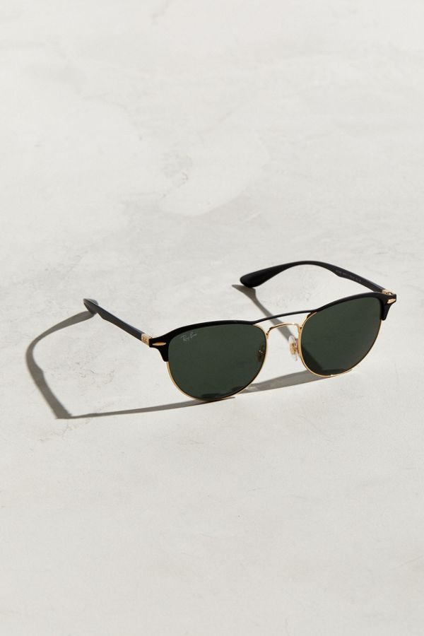 Ray-Ban Round With Bridge Sunglasses   Urban Outfitters b04ea0c08b