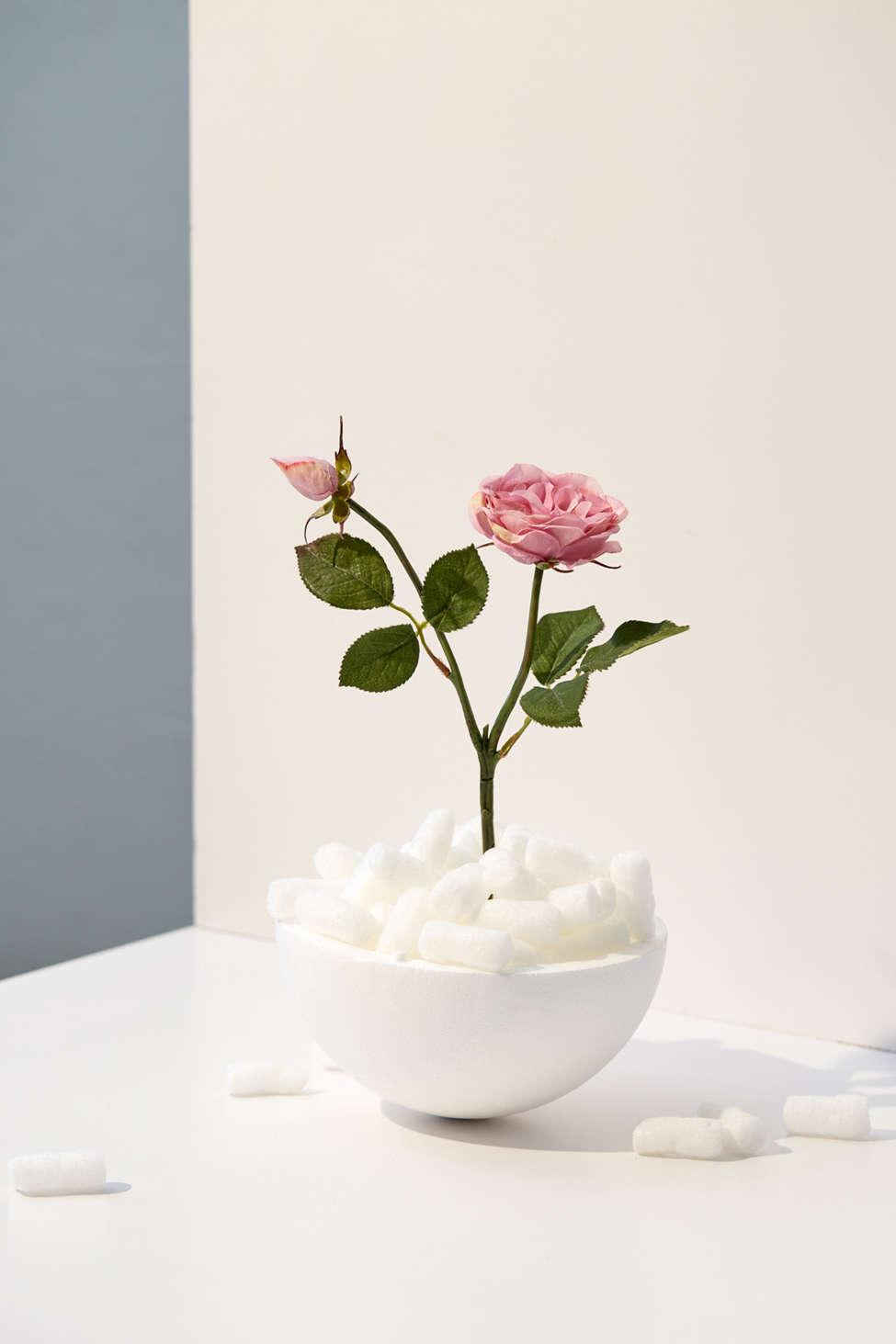 Slide View: 1: Faux Tea Rose