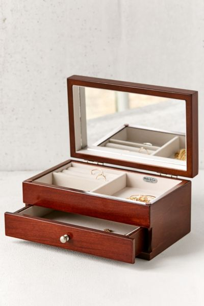 Mele Co Brynn Florentine Motif Wooden Jewelry Box Urban Outfitters