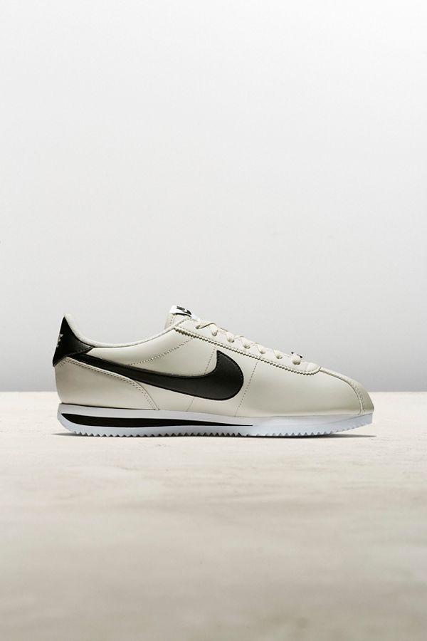 Slide View: 1: Nike Cortez Basic Leather Sneaker
