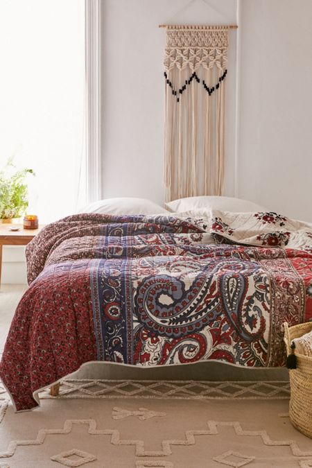 Willa Patched Paisley Quilt