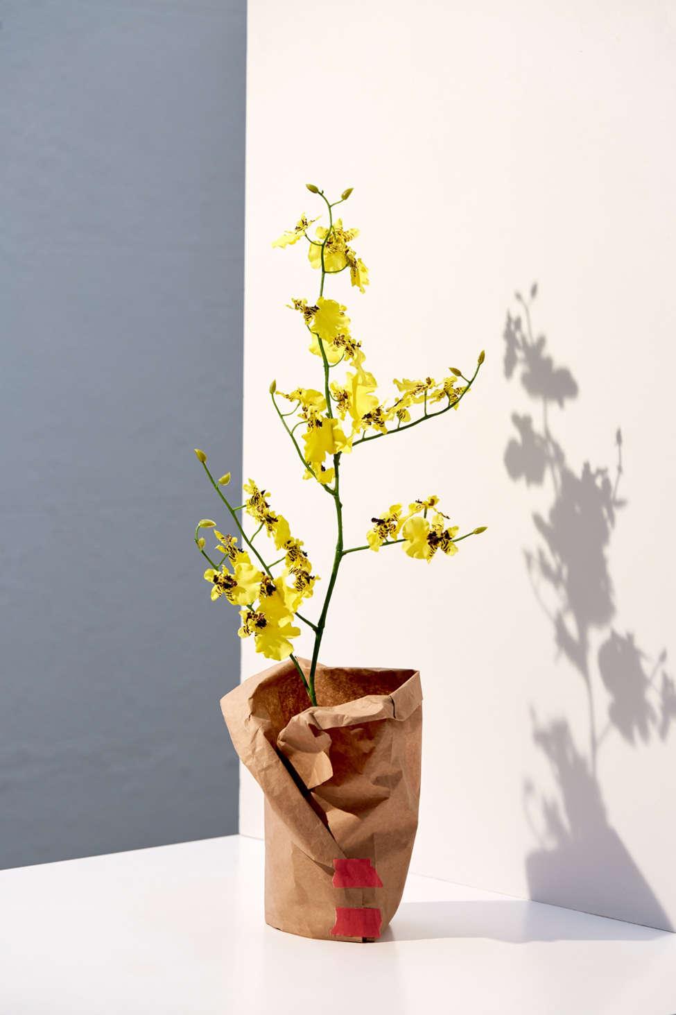 Slide View: 1: Faux Oncidium Orchid