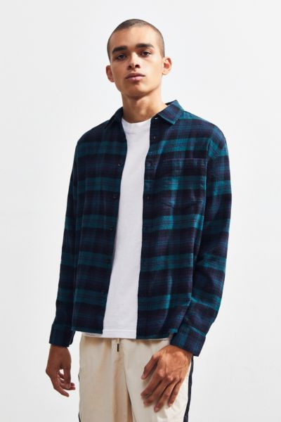 Men S Shirts Flannel Button Downs Urban Outfitters