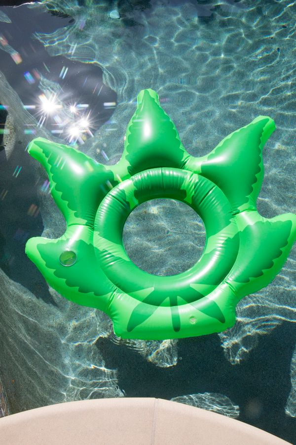 Weed Pool Float