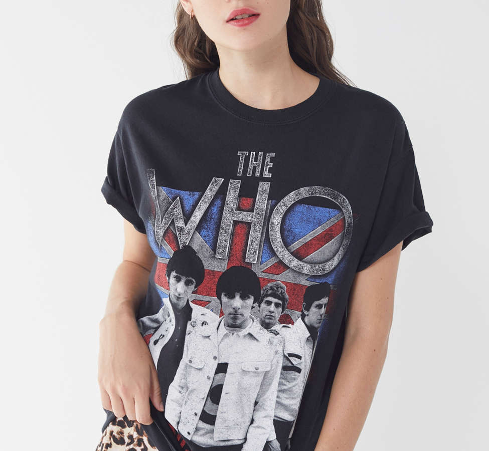 Slide View: 1: The Who Crew-Neck Tee