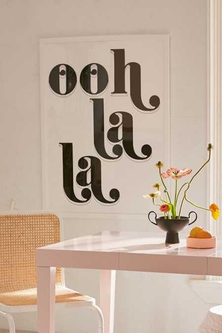 Honeymoon hotel ooh la la art print · quick shop