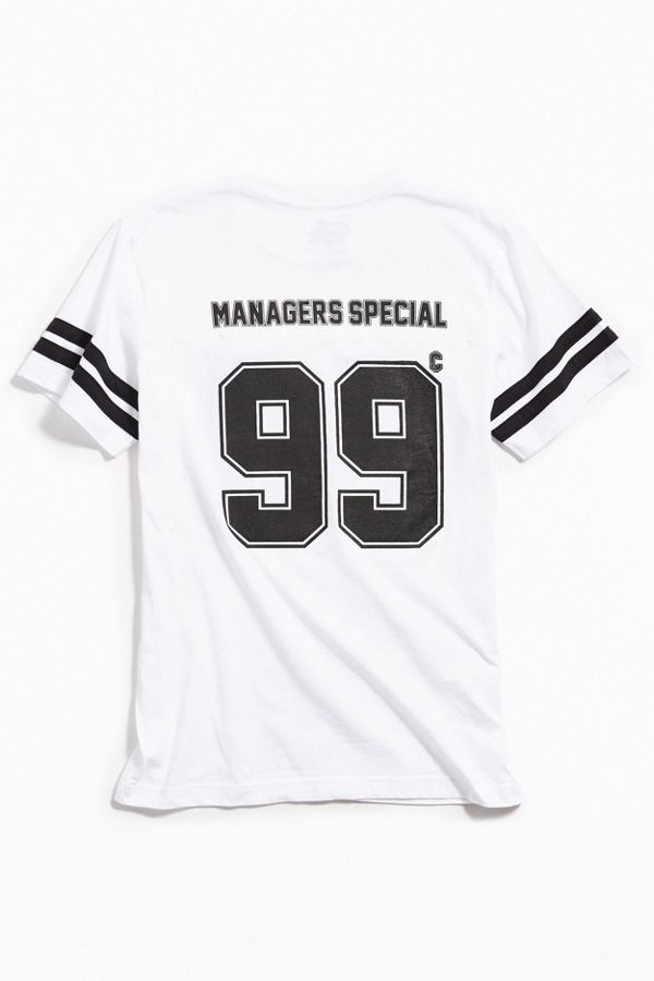Managers Special 99 Cent Football Tee