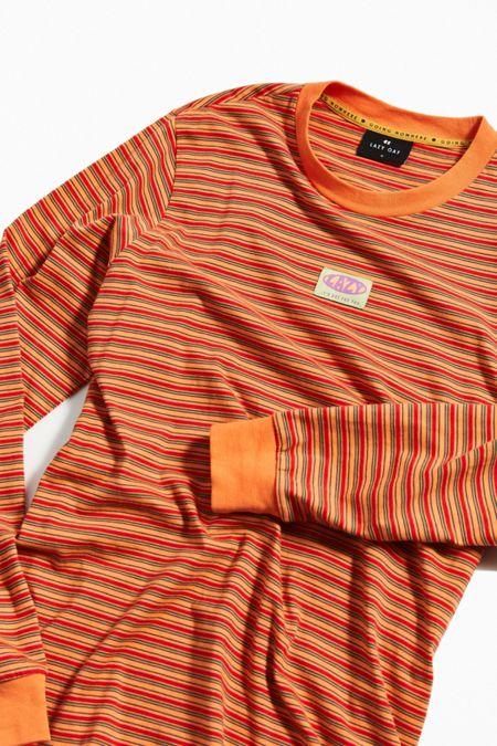 2b02ca9418 Lazy Oaf Tiny Stripe Long Sleeve Tee