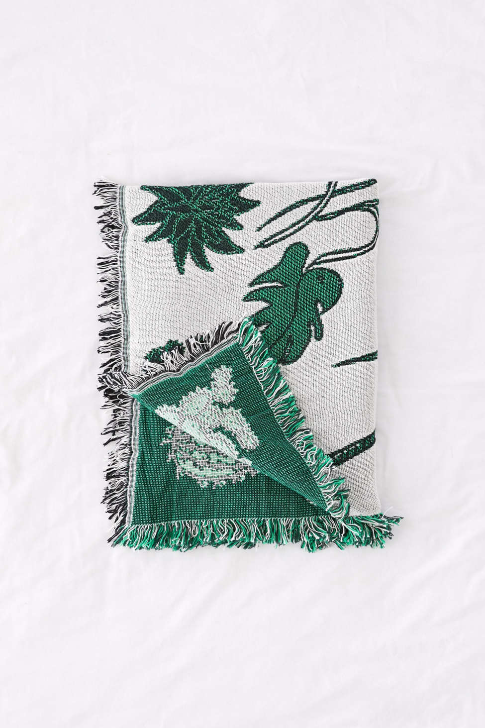 Slide View: 3: Calhoun & Co. Plants! Throw Blanket