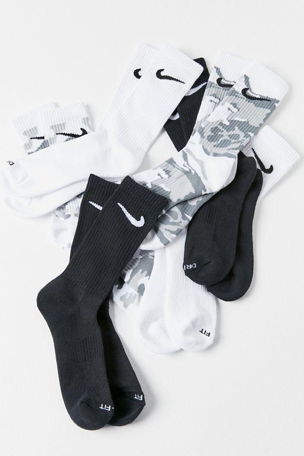 Nike Dri-FIT Cushion Crew Sock 6-Pack  fee283b151ee