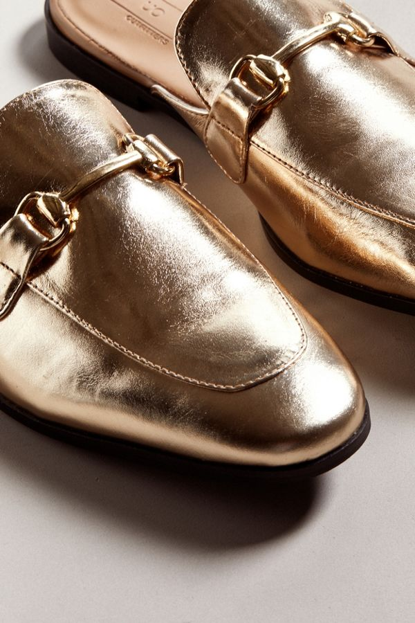 Chic Metallic Mule | Urban Outfitters