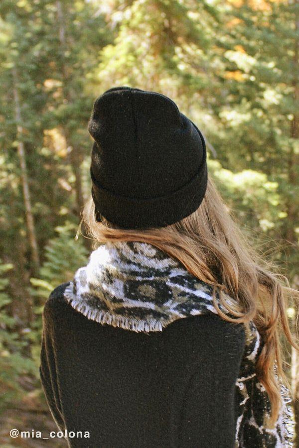 Jersey Knit Basic Beanie  9cc3698378f