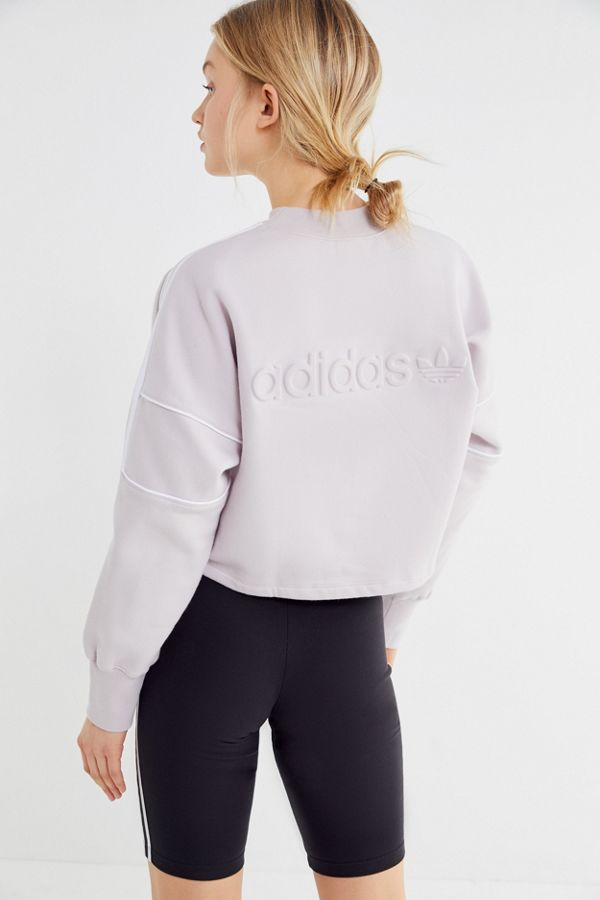 adidas Winter Ease Cropped Sweatshirt   Urban Outfitters a5ba4cb94cdf