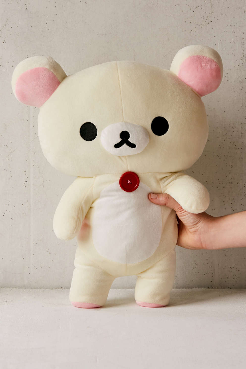 Slide View: 2: Korilakkuma Large Stuffed Bear