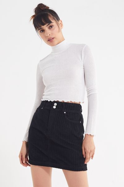 Uo New York Minute Corduroy Skirt by Urban Outfitters
