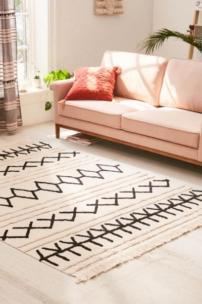 Corta Washable Canvas Rug by Lorena Canals
