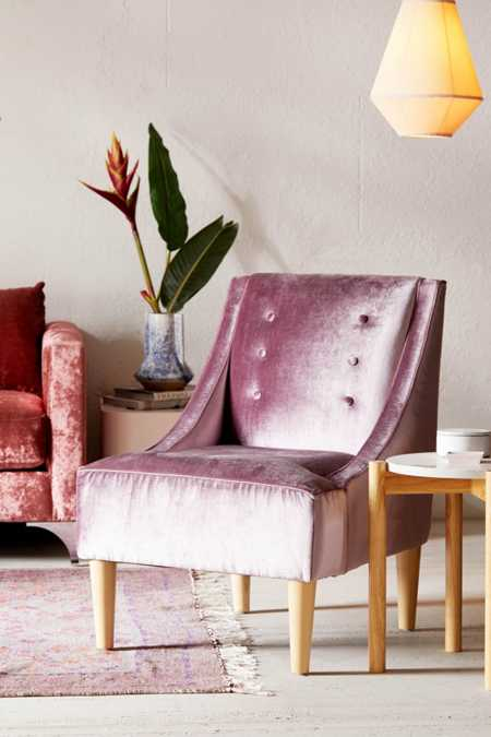 Inez Tufted Velvet Chair