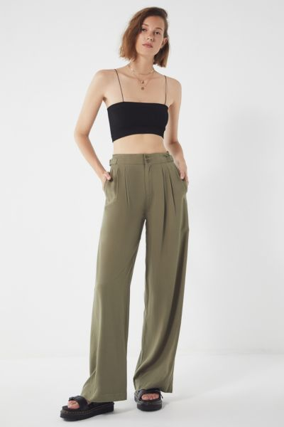 Uo Avery High Rise Puddle Pant by Urban Outfitters