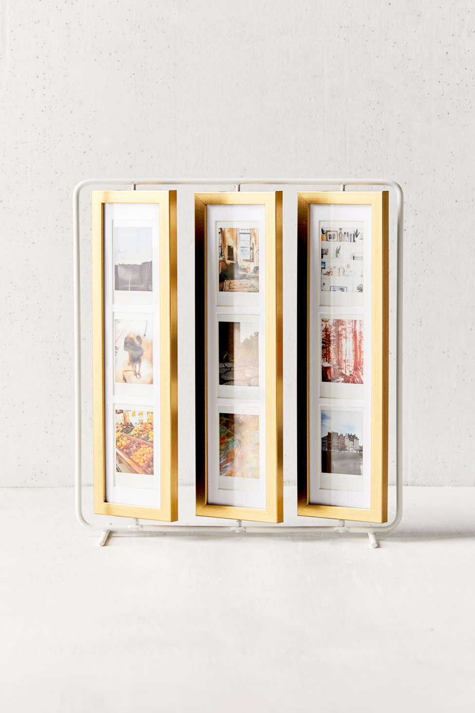 Slide View: 1: Finley Flip Instax Mini Picture Frame + Jewelry Holder
