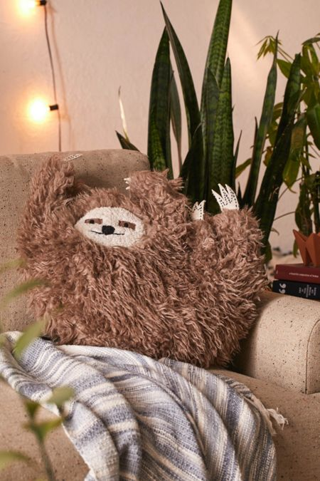 Party Sloth Pillow