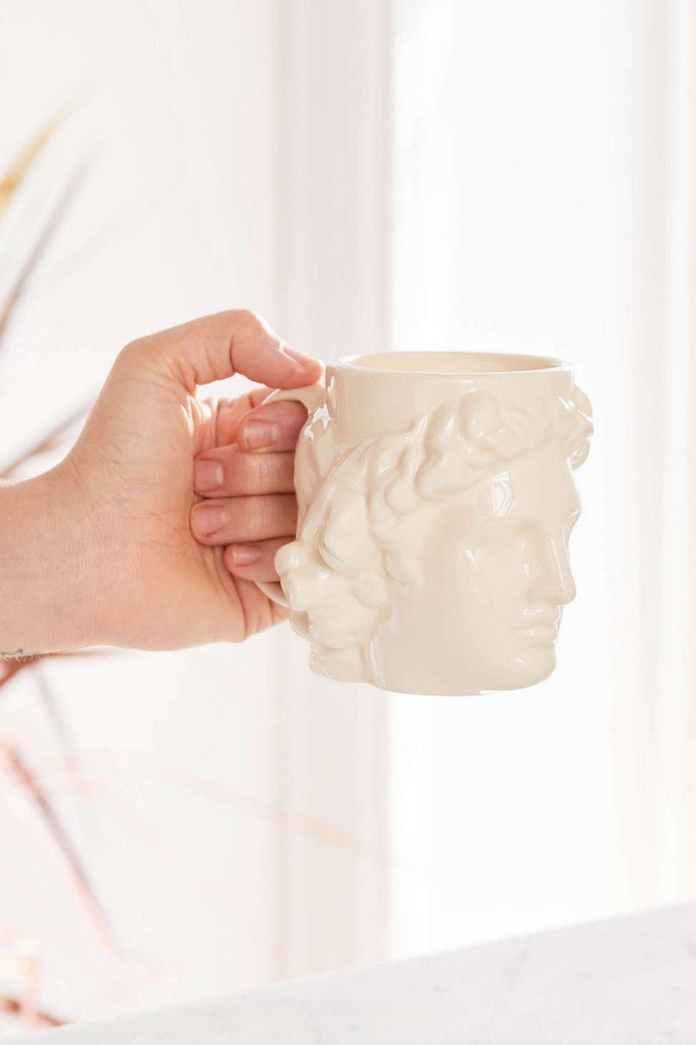Slide View: 3: DOIY Design Hestia Shaped Mug