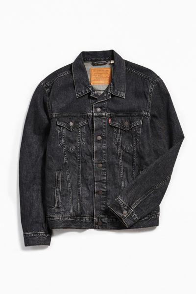 Levi's Dark Wash Denim Trucker Jacket by Levi's