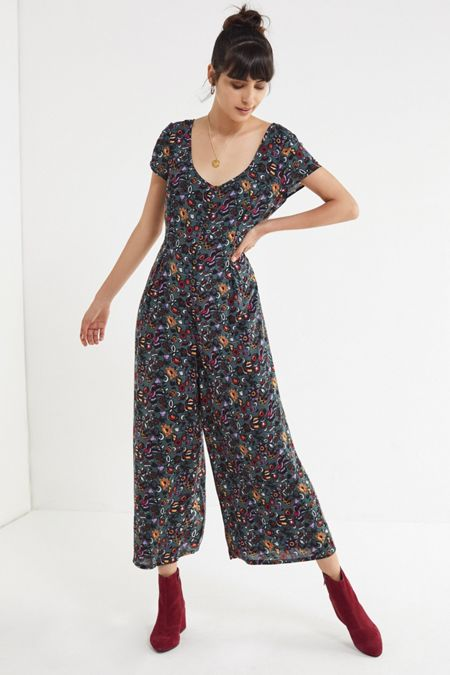 ac0d3ed0c48a UO Lorelai Button-Down Jumpsuit