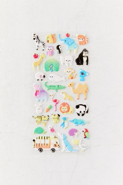 Puffy Sticker Sheet by Urban Outfitters