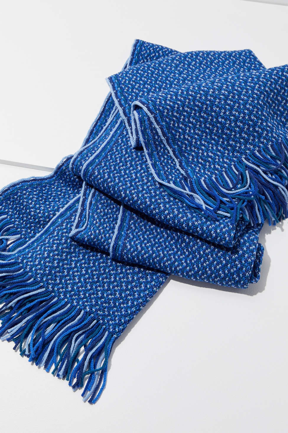 Geo Striped Oblong Scarf by Urban Outfitters