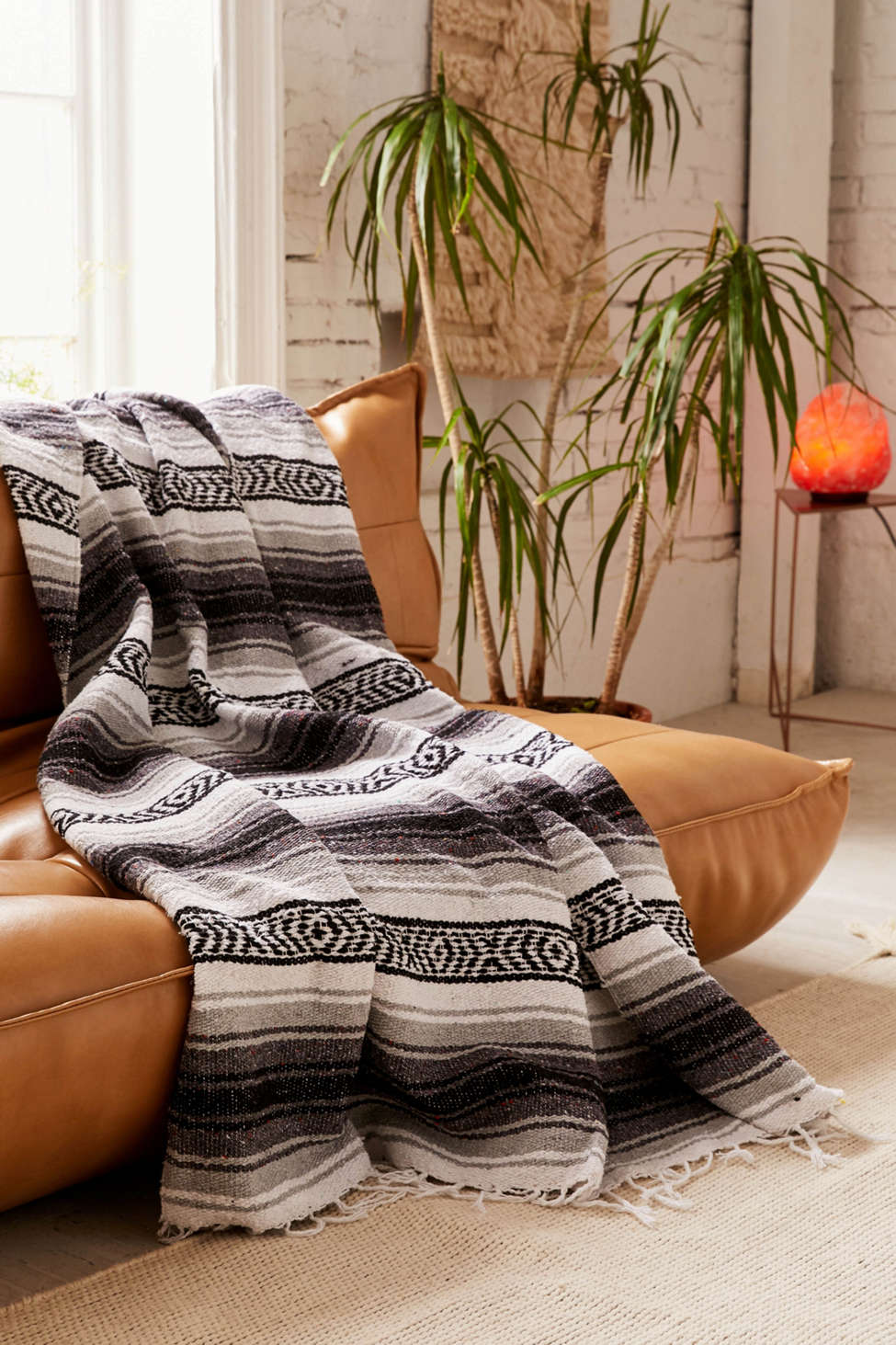 Slide View: 1: La Playa Serape Throw Blanket