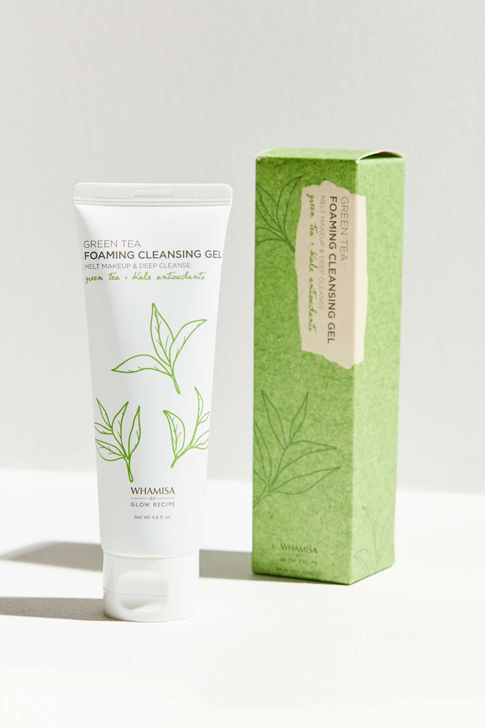 Image result for Green Tea Foaming Cleansing Gel Whamisa