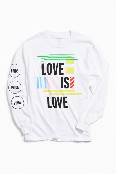 Uo Community Cares + Glsen Pride 2018 Long Sleeve Tee by Uo Community Cares
