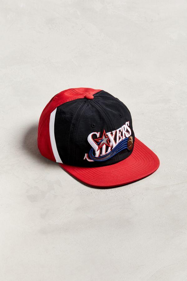 599e8919016 Slide View  1  Mitchell   Ness Philadelphia 76ers Snapback Hat