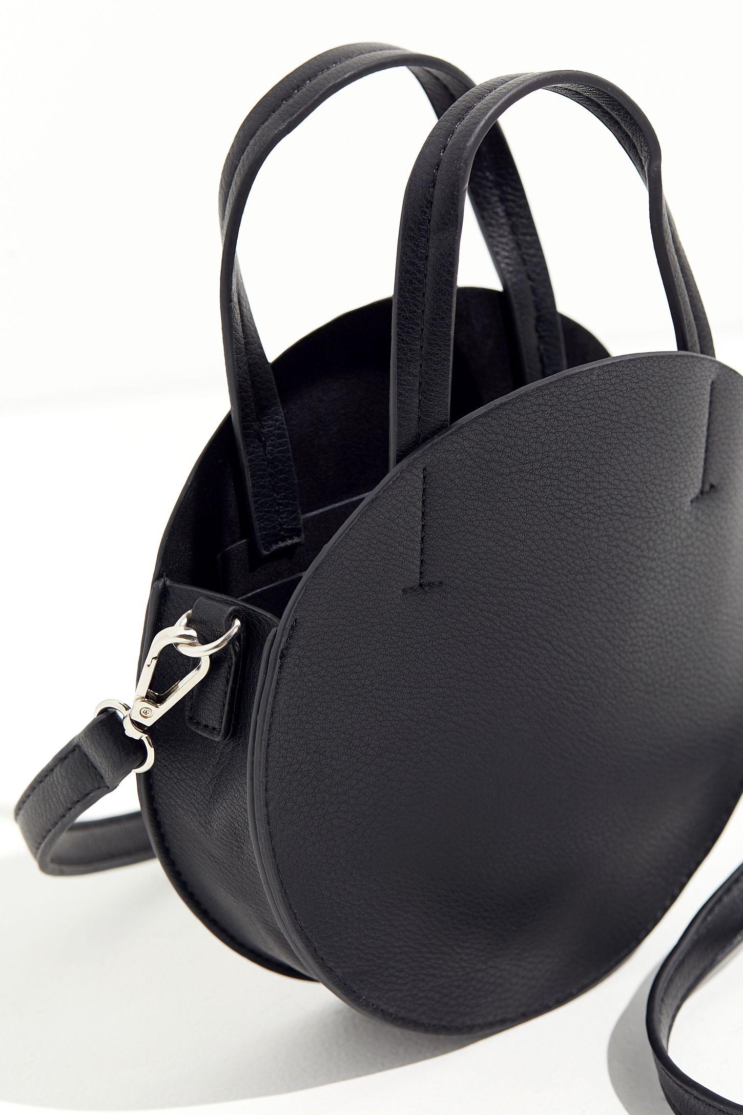 Slide View 4 Top Handle Circle Bag