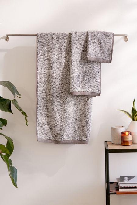 Everplush 6 Piece Diamond Jacquard Bath Towel Set