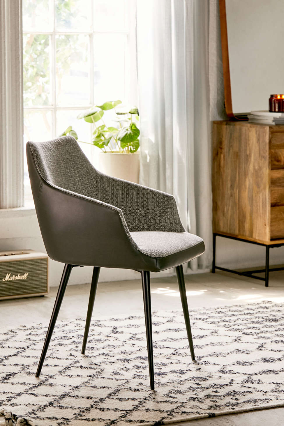 Slide View: 1: Becca Dining Chair