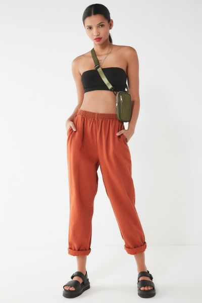 Urban Renewal Remade Overdyed Pull On Pant by Urban Renewal
