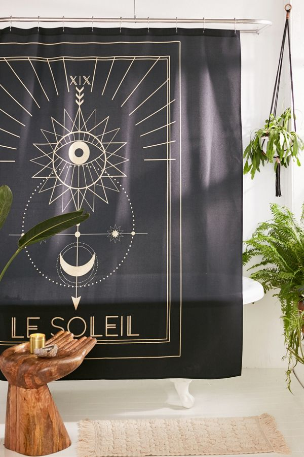 Slide View 1 Cafelab For Deny Soleil Shower Curtain