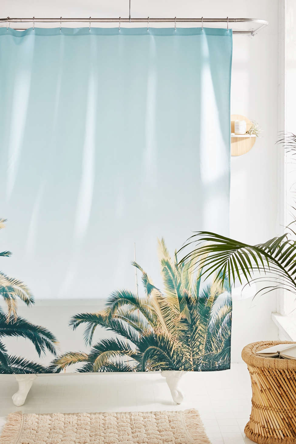 Slide View: 1: Cassia Beck For Deny Summertime Shower Curtain