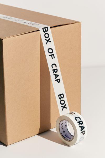 David Shrigley Box Of Crap Packing Tape by David Shrigley