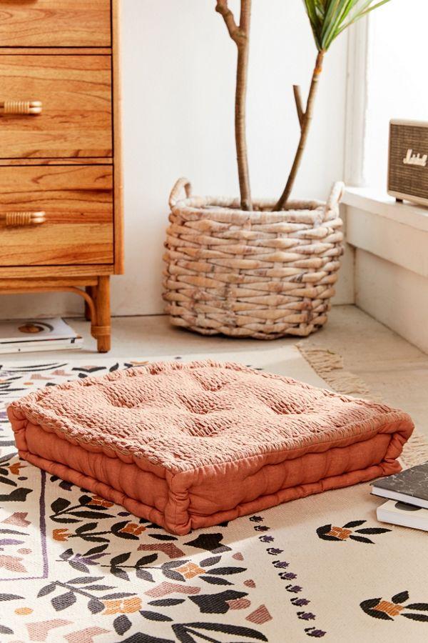 Slide View: 1: Knit Floor Pillow